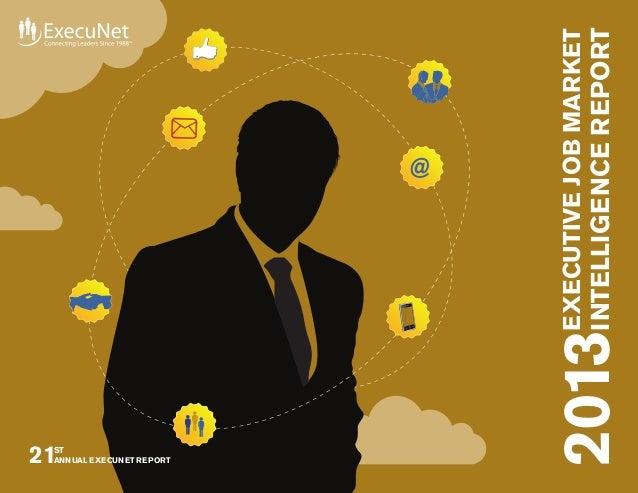 Executive Job Market Intelligence Report
