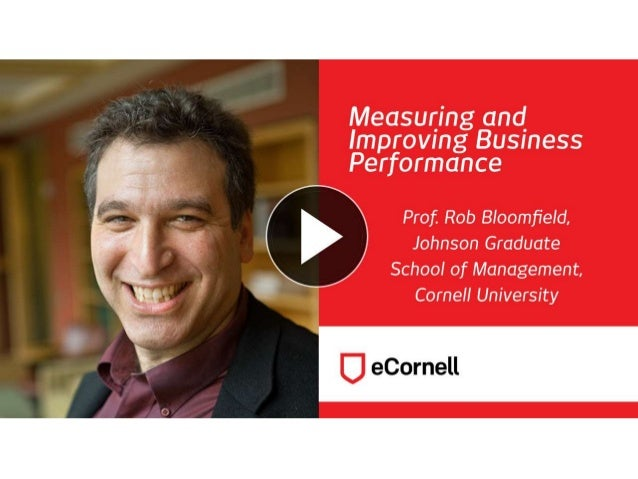 Safety Tips and Best Practices in Managerial Reporting Professor Robert Bloomfield Johnson Graduate School of Management C...