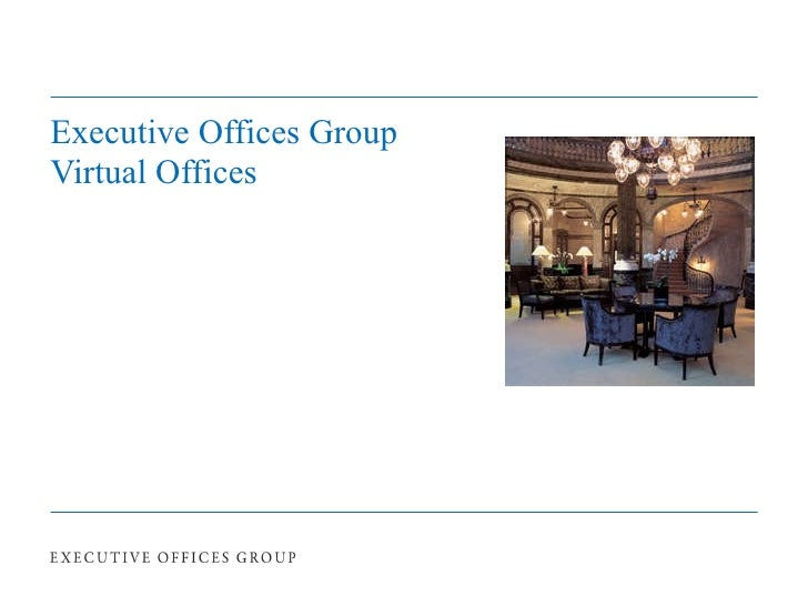 Executive Offices Group – Virtual Offices
