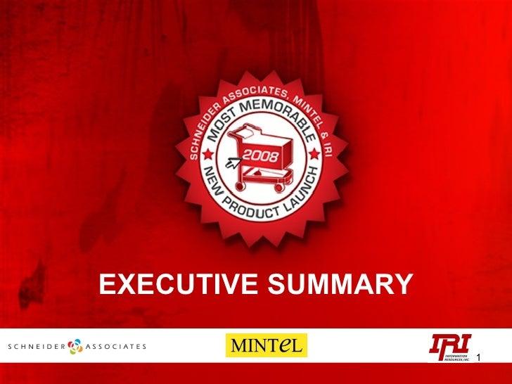 2008 MMNPL Executive Summary