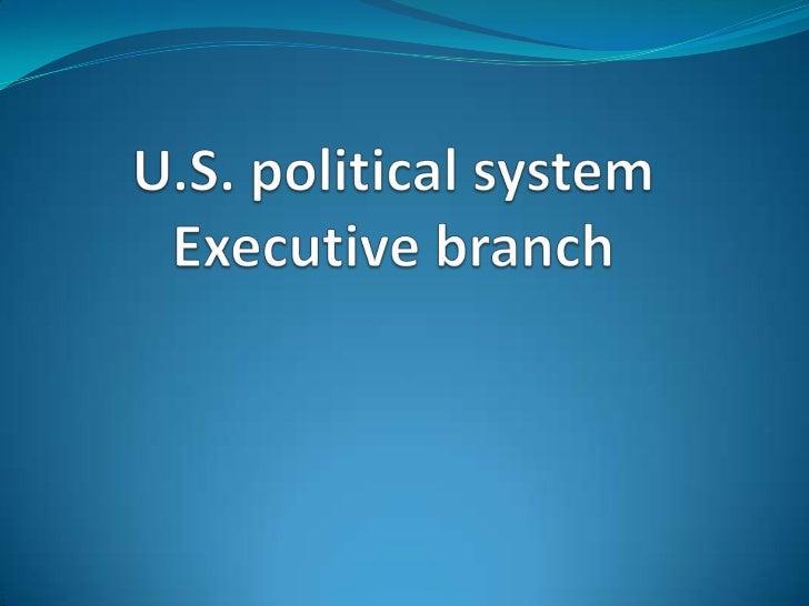 Executive branch cfr =)
