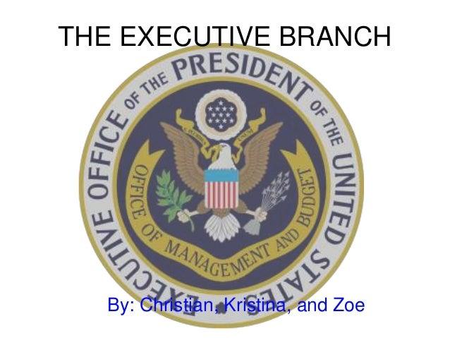 executive branch presentation