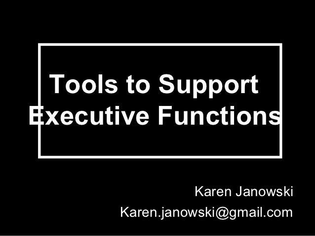 Executive function infinitec1012