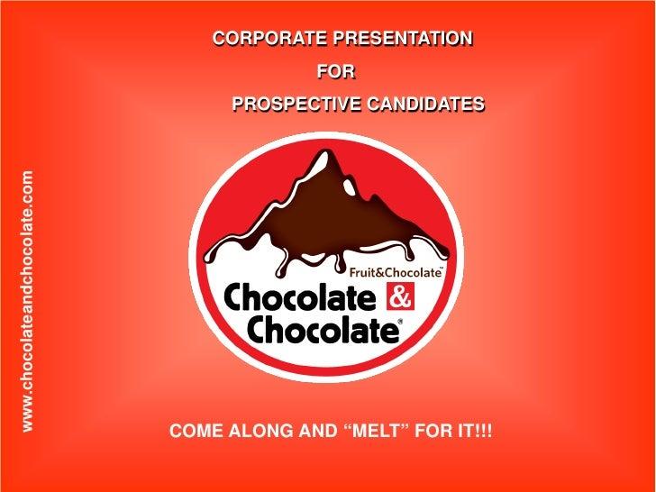 CORPORATE PRESENTATION                                              FOR                                     PROSPECTIVE CA...