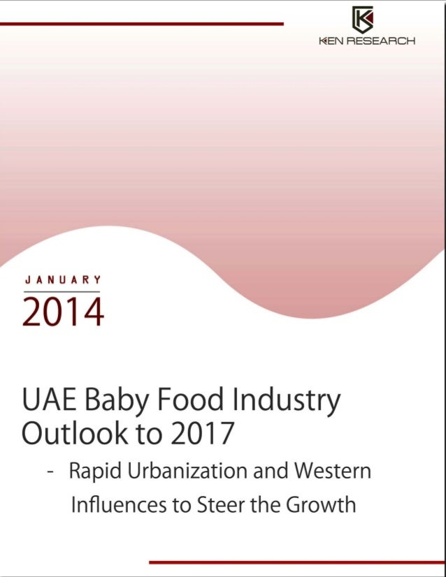 Food Industry: UAE Baby Food Industry Research Report