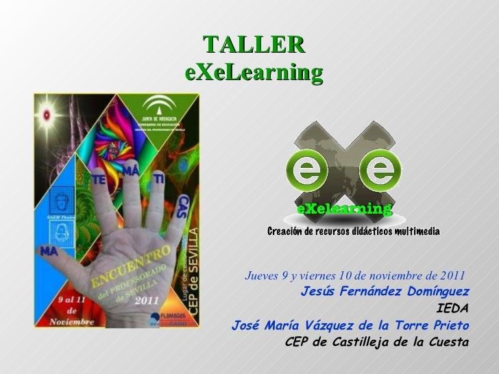Exelearning_V_Encuentro