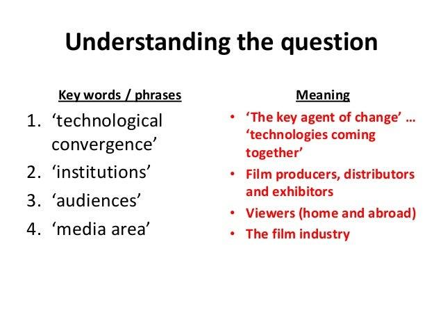 Audio technology in film essay
