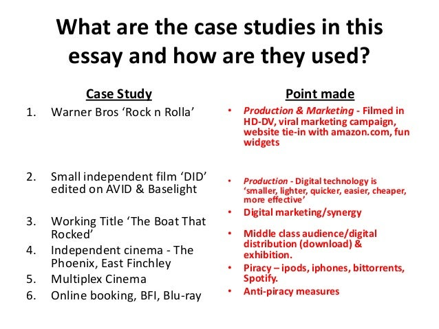 Critical Analysis Film Essay Examples