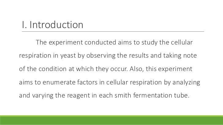lab report on yeast alcoholic fermentation