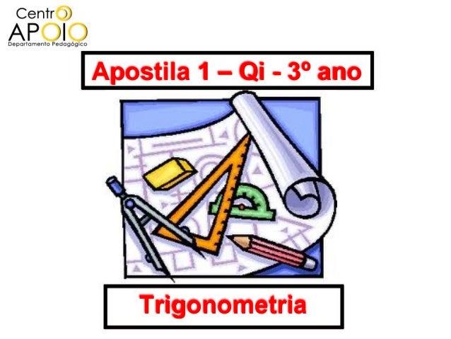 www.TutoresEscolares.Com.Br - Matemática -  Exercício de Trigonometria