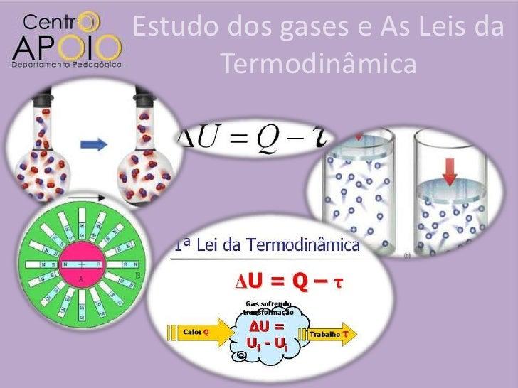 Estudo dos gases e As Leis da      Termodinâmica