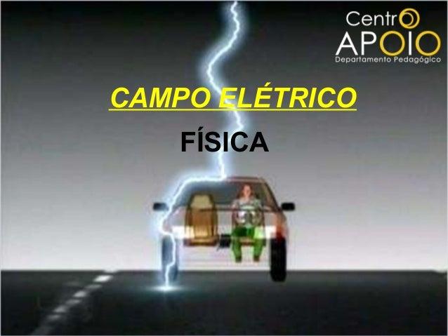 www.videoaulagratisapoio.com.br - Física – Campo Elétrico