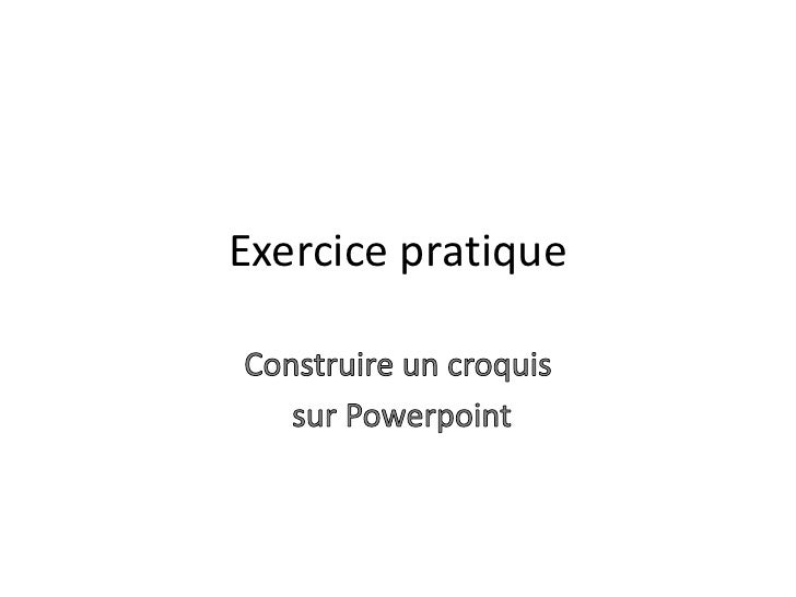 Exercice pratique
