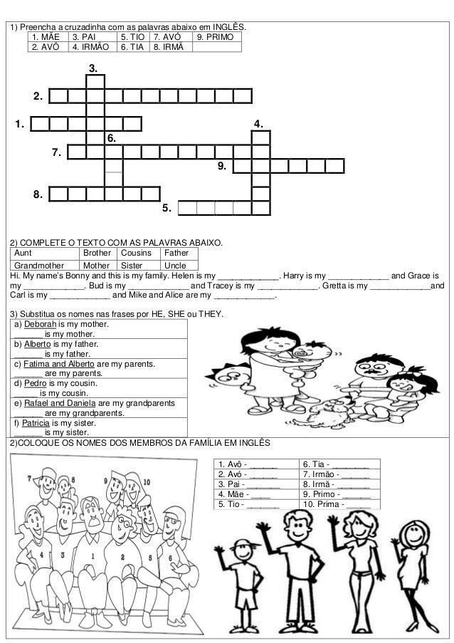 Muitas vezes ATIVIDADES DIVERSAS CLÁUDIA: Atividades de Inglês Ensino  JR32