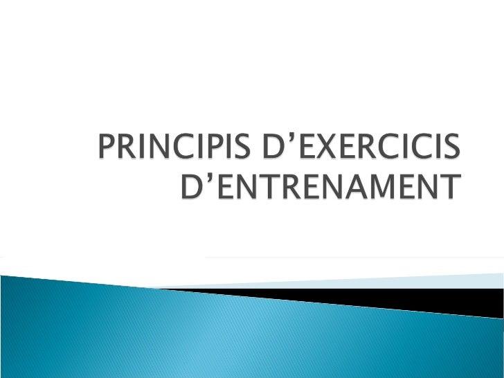 Exercicis