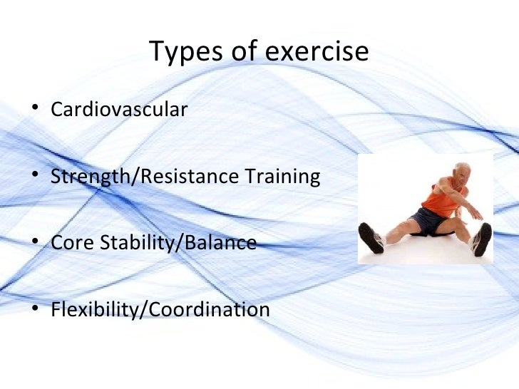 exercise and the elderly 2010