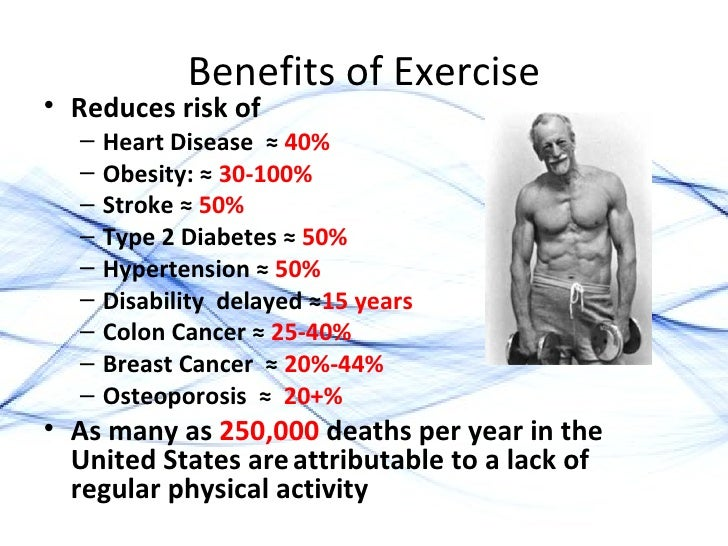 benefits of exercise for the elderly He says reasonable amounts of resistance exercise can enable elderly adults to  regain strength, fitness, and physical abilities so that they do less wheelchair.