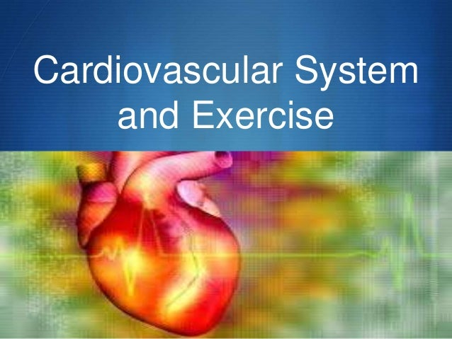S Cardiovascular System and Exercise