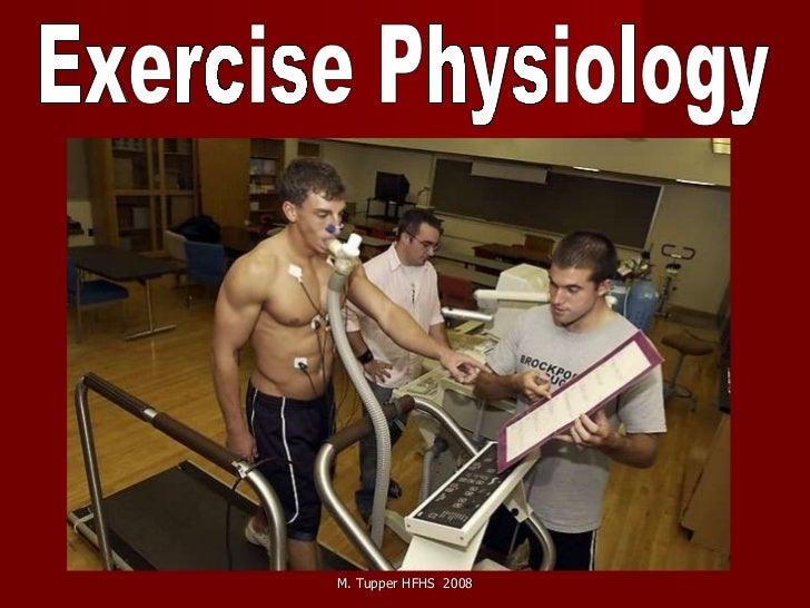 Exercise physiology powerpoint