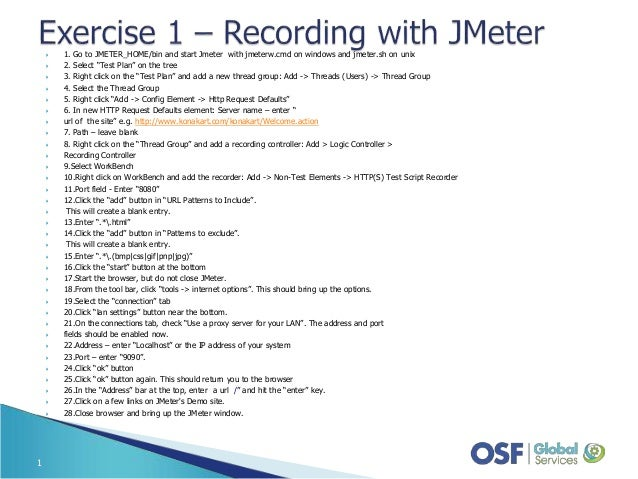 Exercises of ISTC In-Depth Second Edition Part II - Take Your First Bite of JMeter