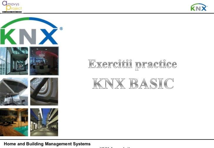KNX - Exercitii practice  4