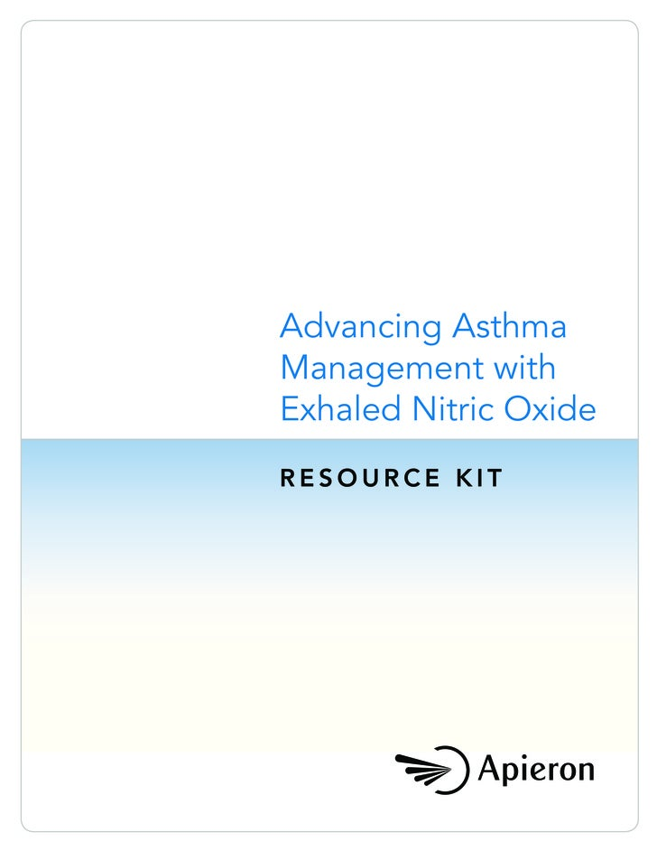 Advancing Asthma Management with Exhaled Nitric Oxide RESOURCE KIT