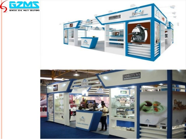 Large Exhibition Stall : Exhibition stall design