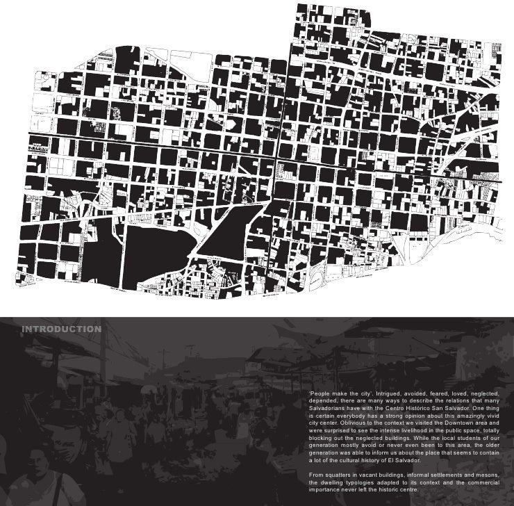 INT INTRODUC O INTRODUCTION  N  NTRODUCT       UC       UC        CTION                    'People make the city'. Intrigu...