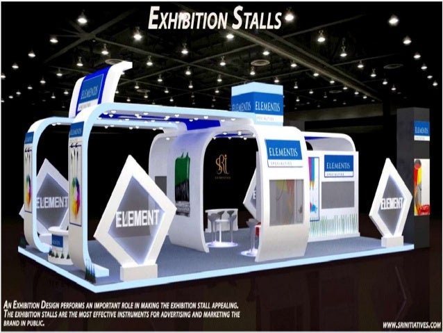 Exhibition Stall Making : Exhibition stalls