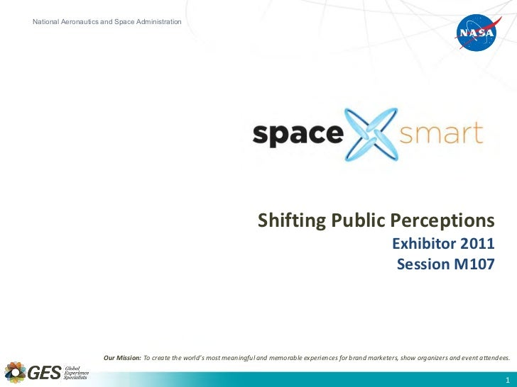 Exhibitor2011  SpaceSmart Shifting Public Perceptions of Space