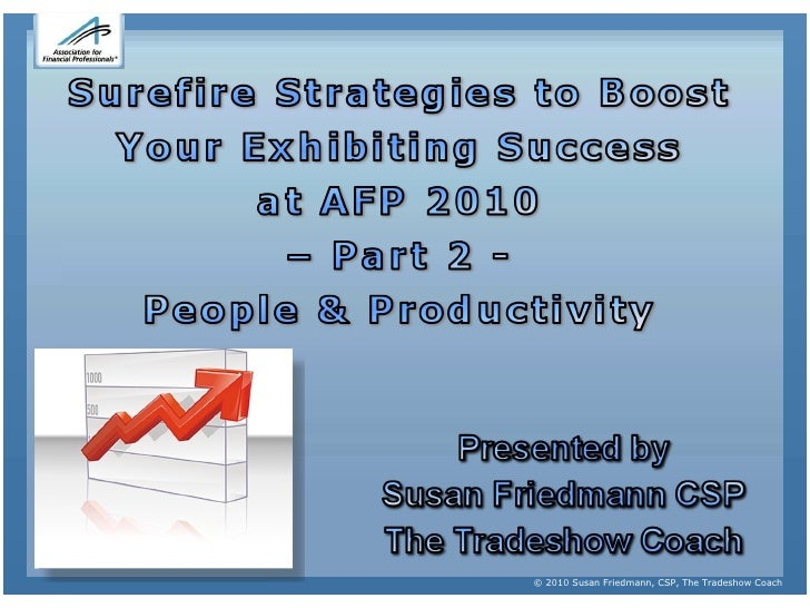 Exhibitor training  - AFP 2010 - Part 2