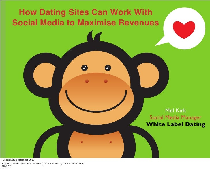 How Dating Sites Can Work With        Social Media to Maximise Revenues                                                   ...