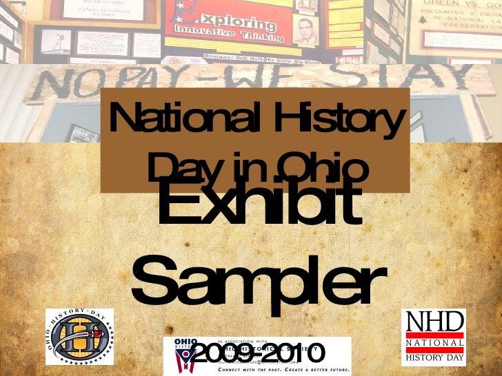Exhibit Sampler NHD-OH V.2