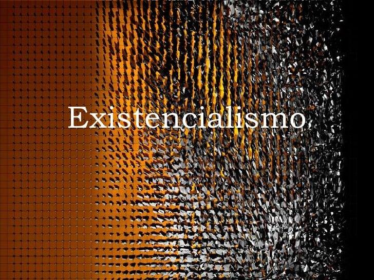 Existencialismo / Psicologia