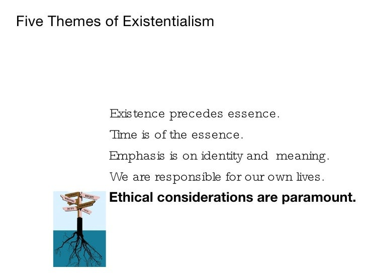 existentialism vs essentialism Existentialism definition is - a chiefly 20th century philosophical movement embracing diverse doctrines but centering on analysis of individual existence in an.