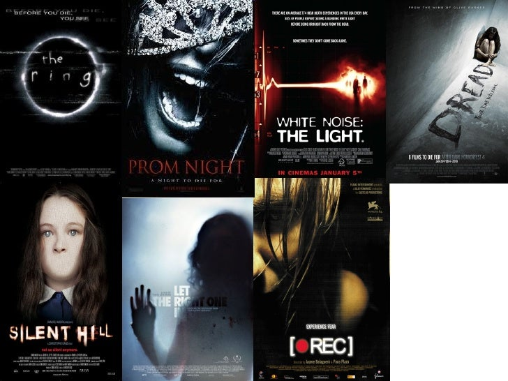 Existing film poster analysis