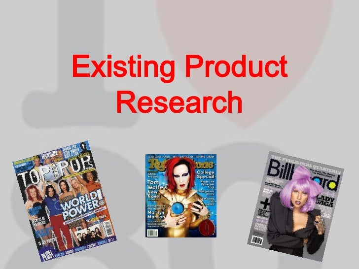Existing Product Research<br />