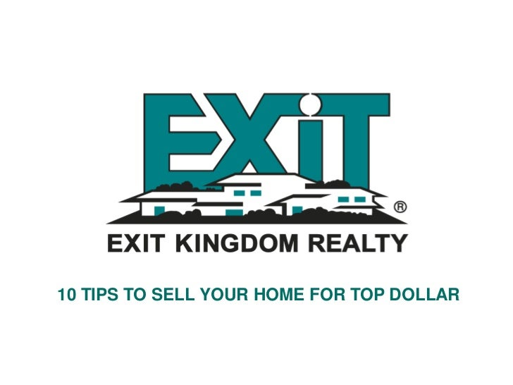 10 tips to sell your real property