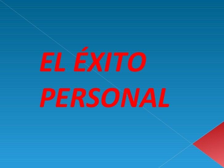 exito personal