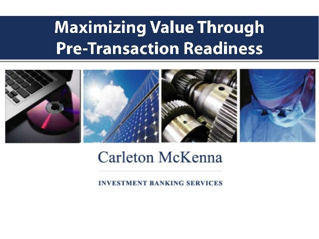 Exit Planning - Maximizing Value Through Pre-Transaction Readiness