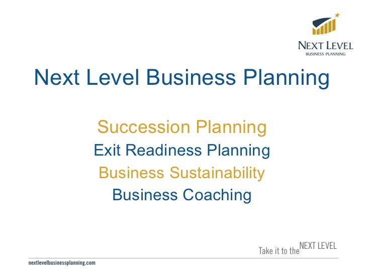 Exit Readiness Presentation For Accountants