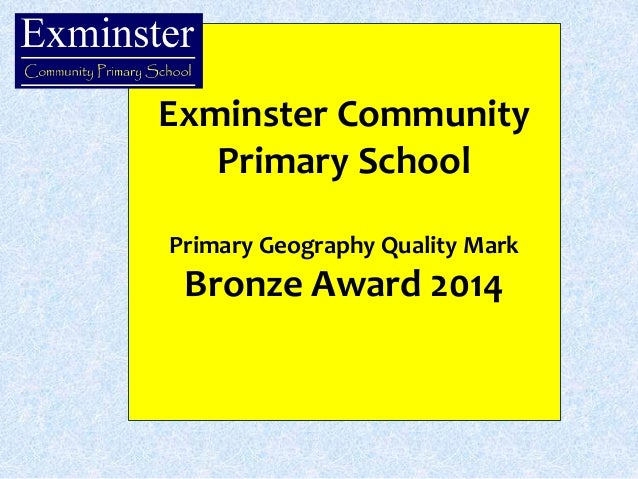 Bronze Award PowerPoint Slide