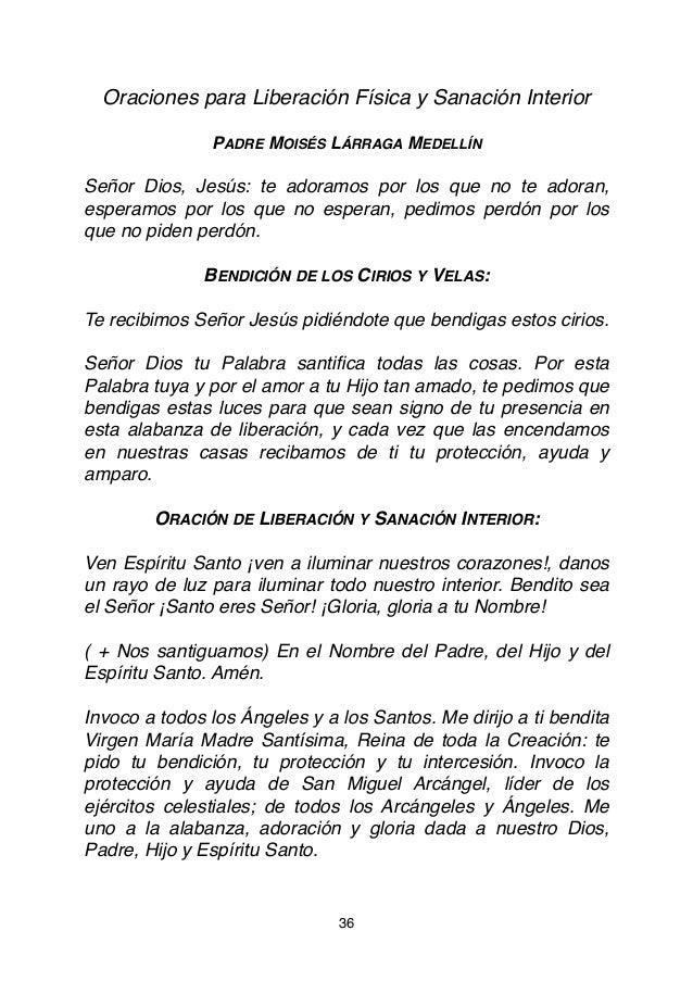 Rosario Liberacion Padre Moises Larraga