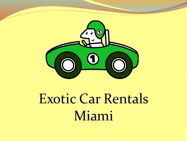exotic car rentals miami florida