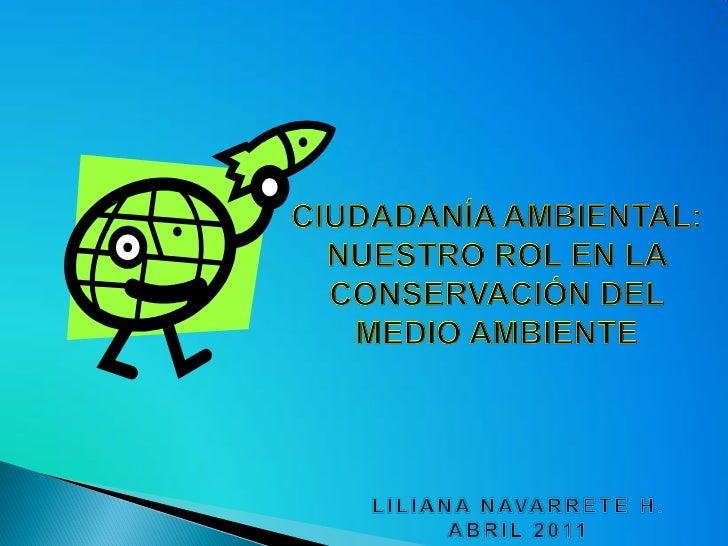Exp. ciudadania ambiental  CEIA ULIMA