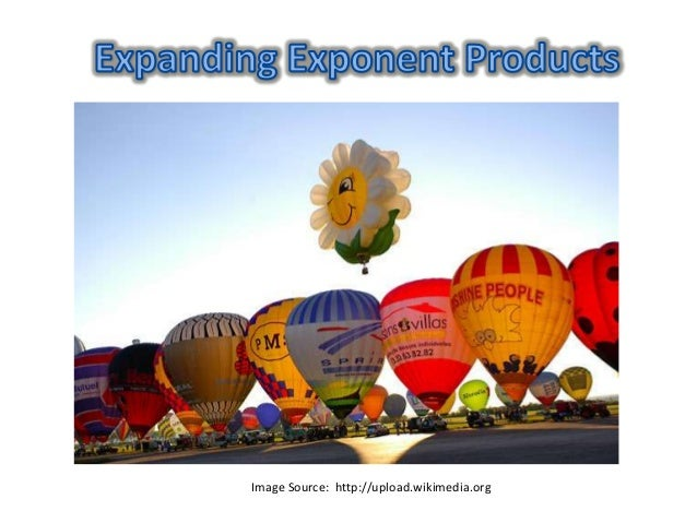 Expanding Exponent Products