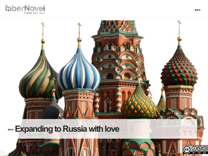 Expanding to Russia With Love