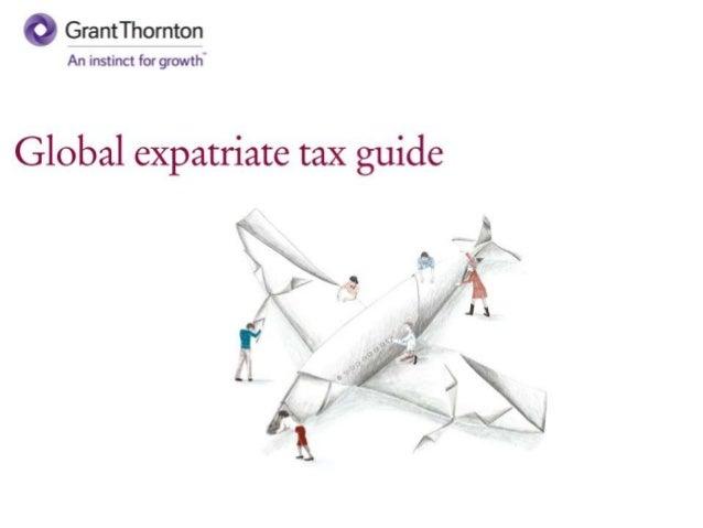 Global expatriate tax guide