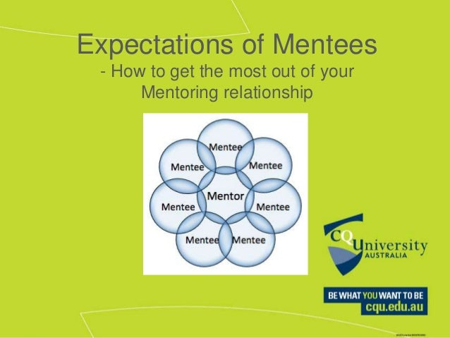 expectation of mentees