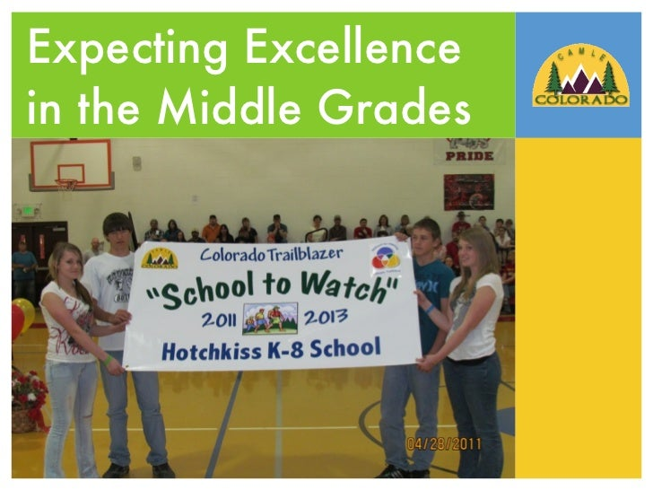 Expecting Excellencein the Middle Grades